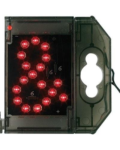 Caractère spécial lumineux à LED - '' & '' rouge