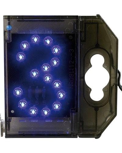 Chiffre lumineux à LED - ''3'' bleu