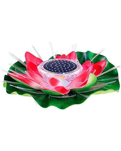 d coration led d ext rieur lumineuse lotus d co d 39 ext rieur lampe solaire. Black Bedroom Furniture Sets. Home Design Ideas