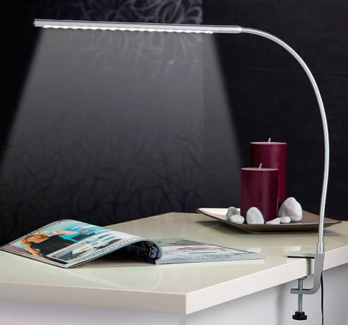 achat vente lampe de bureau orientable led. Black Bedroom Furniture Sets. Home Design Ideas