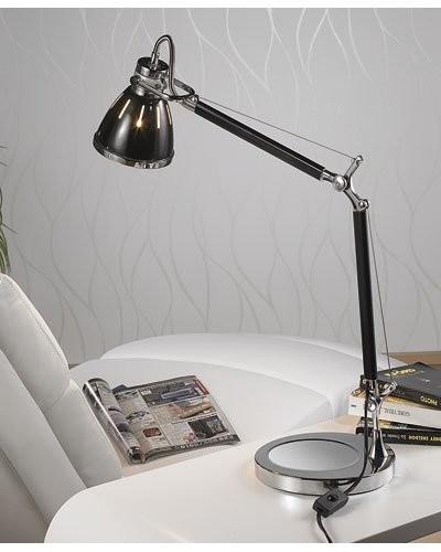 Lampe de bureau rétro avec ampoule LED SMD blanc chaud