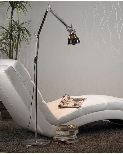 Lampe rétro sur pied avec ampoule à LED Smd blanc froid