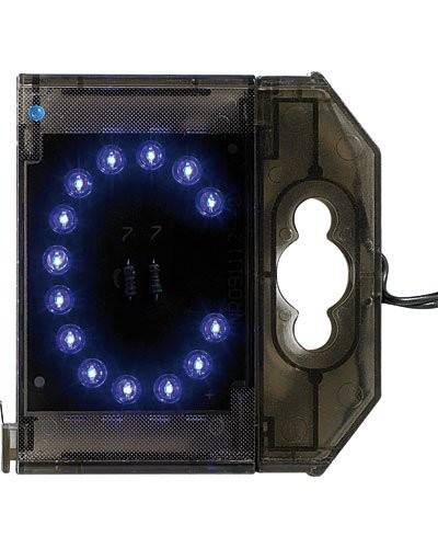 Lettre lumineuse à LED - ''C'' bleu