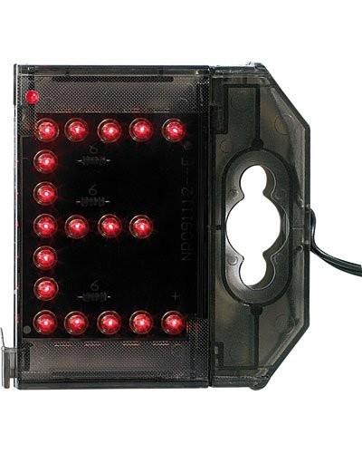 Lettre lumineuse à LED - ''E'' rouge