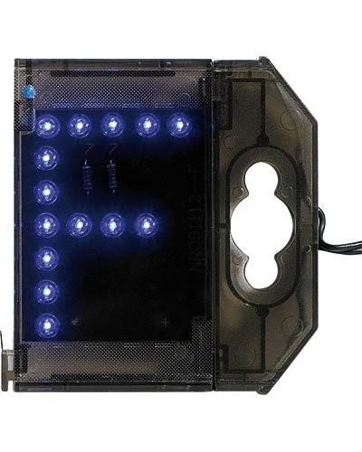 Lettre lumineuse à LED - ''F'' bleu