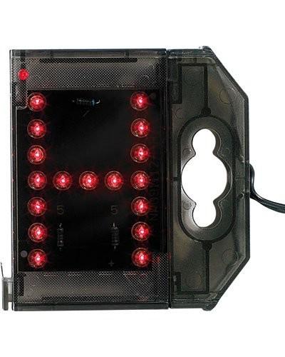 Lettre lumineuse à LED - ''H'' rouge
