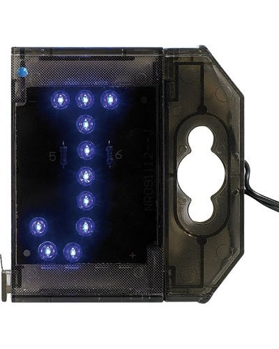 Lettre lumineuse à LED - ''J'' bleu