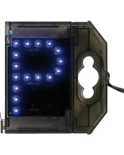 Lettre lumineuse à LED - ''P'' bleu