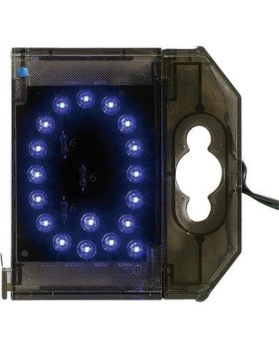 Lettre lumineuse à LED - ''Q'' bleu