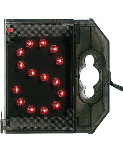 Lettre lumineuse à LED - ''S'' rouge