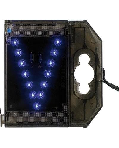 Lettre lumineuse à LED - ''V'' bleu
