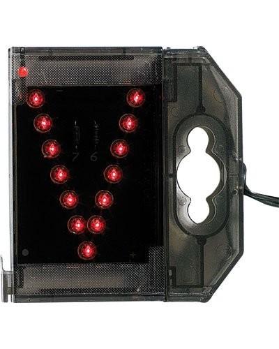 Lettre lumineuse à LED - ''V'' rouge