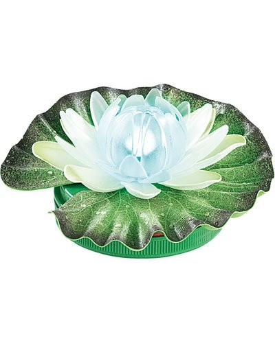Lotus lumineux à couleur changeante