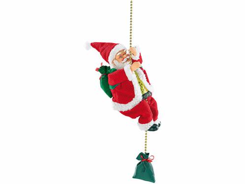 Père Noël grimpant ''Santa Crawl''