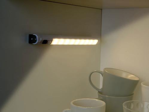 Réglette LED SMD avec détecteur de mouvement - blanc chaud