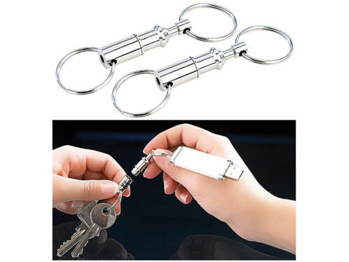 2 porte-clés Easyclip