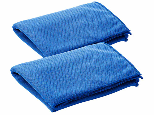 2 serviettes rafraîchissantes 100 x 30 cm