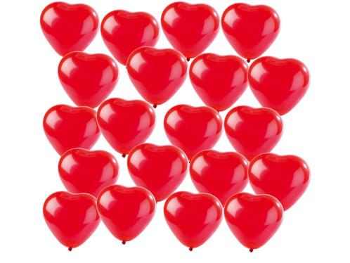 20 Ballons en coeur