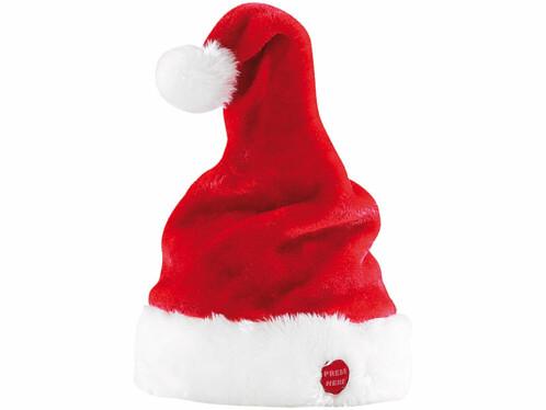Bonnet de Père Noël dansant et chantant