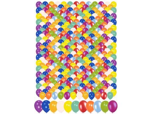 400 ballons multicolores