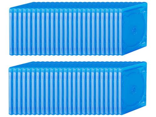 50 boîtiers quadruples pour disques Blu-ray