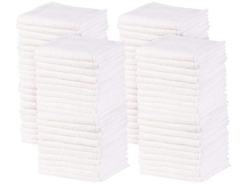 Lot de 80 serviettes démaquillantes en microfibres par Sichler Beauty.