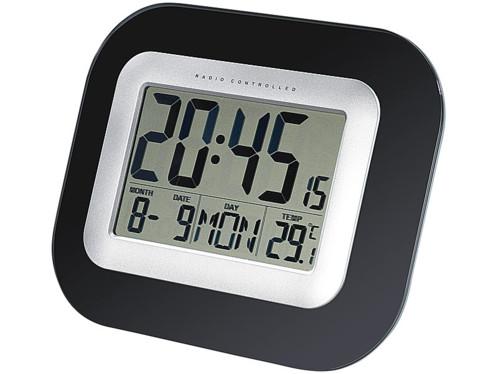 horloge digitale murale ou a poser avec grand écran LCD grands chiffres lisibles pour seniors