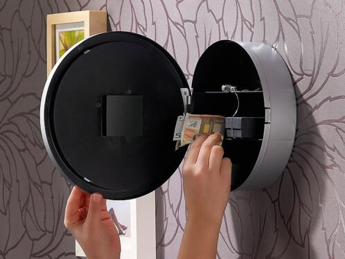 prix horloge murale avec coffre fort pas cher