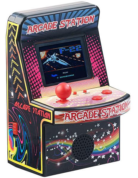 mini borne arcade de poche avec joystick et 200 jeux 8 bits retrogaming MGT