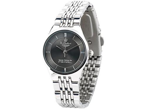 Montre-bracelet pour femme en acier inoxydable, étanche à 3 atm