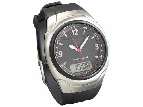 Montre bracelet radio pilotée ''RC-1240.duo''