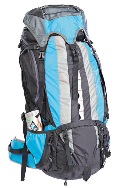 Sac à dos trekking avec structure en aluminium - 80 L