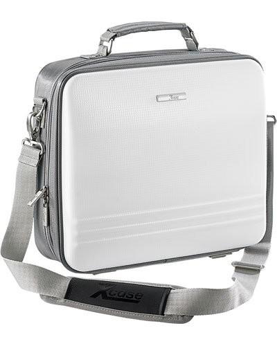 Sacoche à coque pour ordinateur portable 13'' blanc