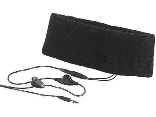 Bandeau avec écouteurs intégrés