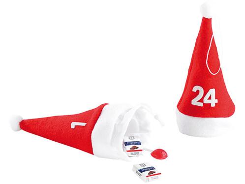 Calendrier de L'Avent original avec 24 mini bonnets