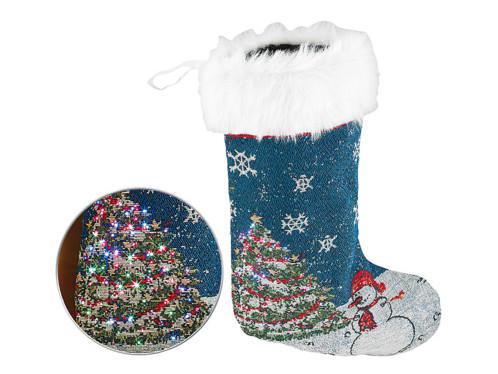 Chaussette de Noël à LED