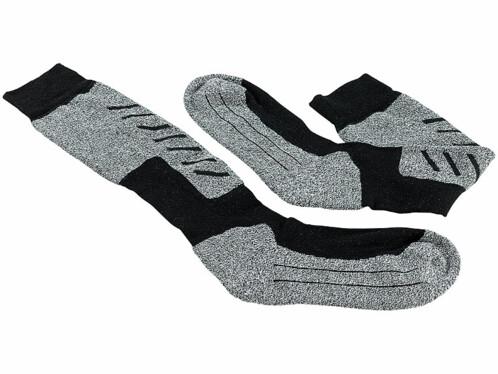 Chaussettes de ski thermo-respirantes taille 35-38