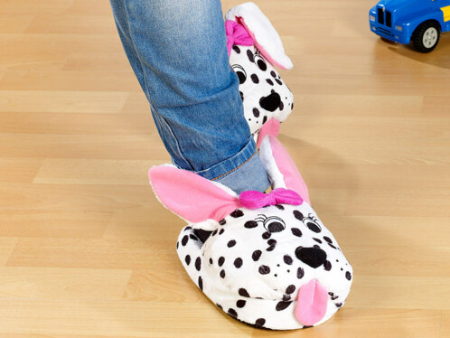 Chaussons ''Dalmatiens'' taille 32 - 34