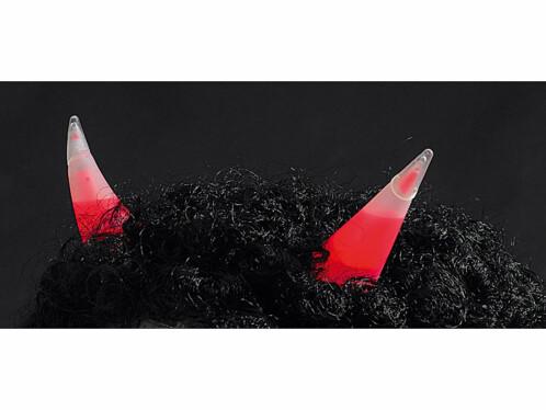 Cornes lumineuses rouges fluorescentes