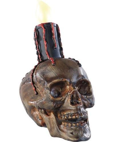 Décoration lumineuse en forme de crâne
