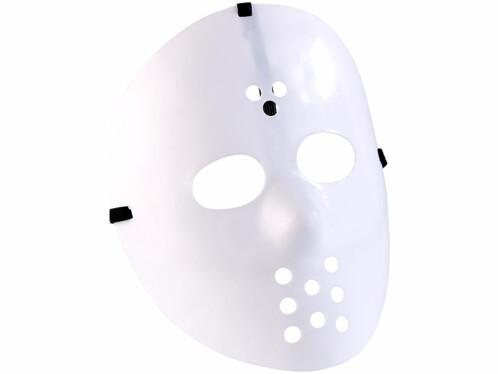 Déguisement ''Masque de hockey'' - blanc opaque