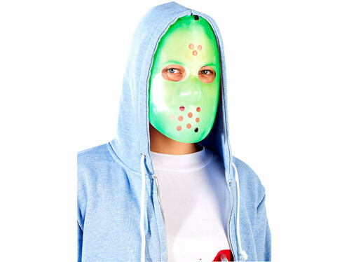 Déguisement ''Masque de hockey'' - Phosphorescent