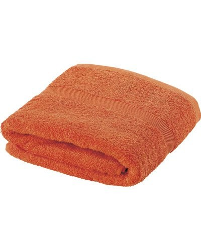 Drap de bain en coton 70 X 140 cm orange
