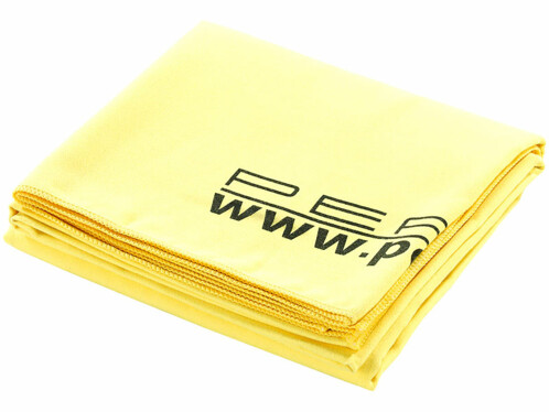 Drap de bain microfibre Jaune - 180 x 90 cm
