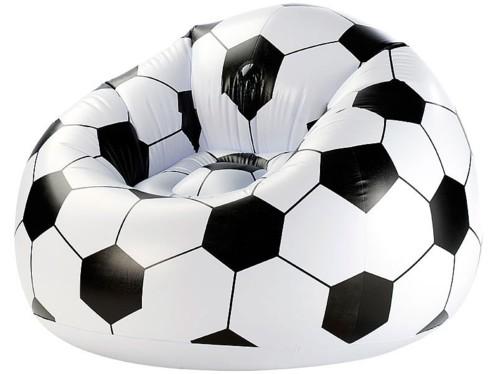 acheter fauteuil gonflable 39 ballon de foot 39. Black Bedroom Furniture Sets. Home Design Ideas