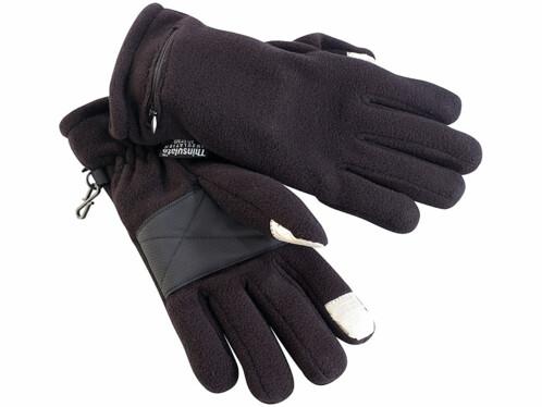 Gants chauffants pour écrans tactiles - Taille M