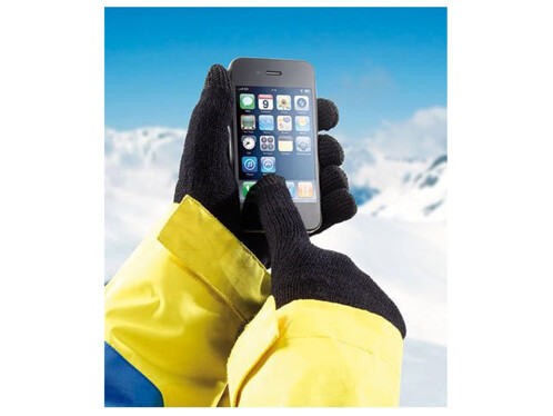 Gants en tricot pour écrans tactiles taille XL