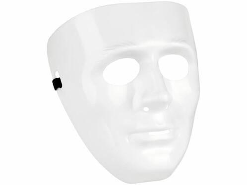 Masque blanc à décorer