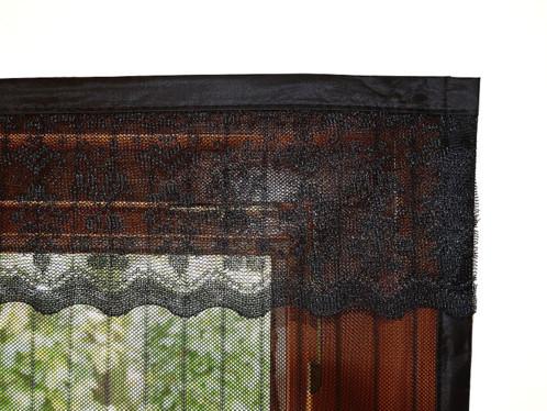 moustiquaire noire pour porte fermeture magn tique. Black Bedroom Furniture Sets. Home Design Ideas