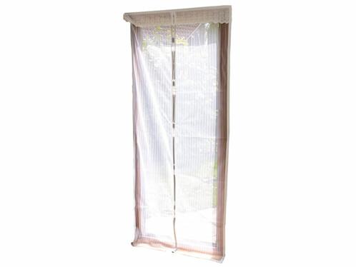Moustiquaire pour porte avec fermeture magnétique